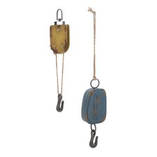 2 Piece Metal Hook Set
