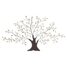 Tree-Shaped Metal Art Wall Décor