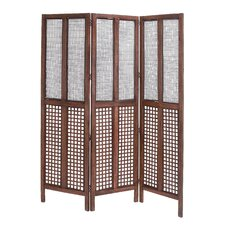 Wooden 3 Panel Screen