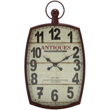 <strong>Woodland Imports</strong> Shanghai Decor Wall Clock