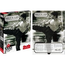 Bruce Lee Affirmations Jigsaw Puzzle