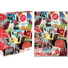 <strong>Aquarius</strong> Coca - Cola Collage Jigsaw Puzzle