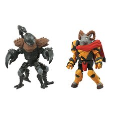 Battle Beasts Minimates Series 1: Vorin and Scorpion (Set of 2)