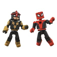 <strong>Diamond Selects</strong> Marvel Minimates Series 51: Spider-Man and Nova (Set of 2)