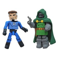 Marvel Minimates Best of Series 2: Mr. Fantastic and Doctor Doom (Set of 2)