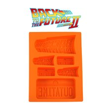 Back to the Future Silicone Ice Cube Tray