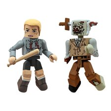 The Walking Dead Minimates Series 2: Amy and Zombie Lurker (Set of 2)