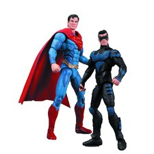 Injustice 2 Piece Nightwing Vs. Superman Action Figure Set