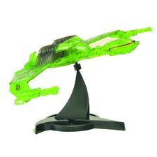 Star Trek Klingon Bird of Prey Partial Cloak Ship Figure