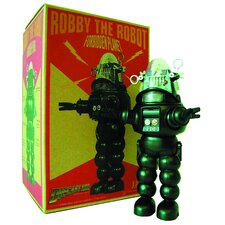 Robby The Robot B&W Die-Cast Figure