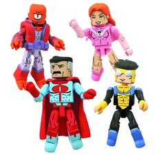 Invincible 4 Piece Minimates Box Set