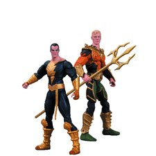 Injustice 2 Piece Aquaman Vs. Black Adam Action Figure Set