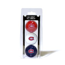 NHL Golf Ball - Pack of 3
