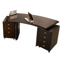 Bali Curved Executive Desk