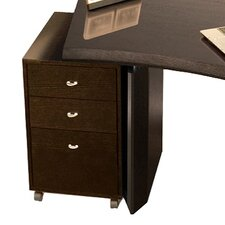 Bali 3 Drawer File Cabinet