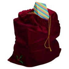 Santa Drawstring Gift Bag