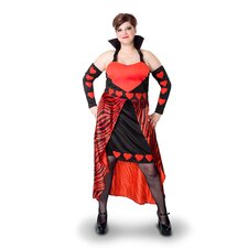 Lava Diva Queen of Hearts Costume