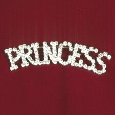 """Princess"" Rhinestone Pin"