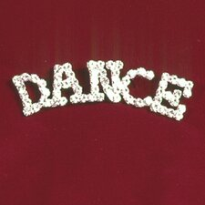 """Dance"" Rhinestone Pin"