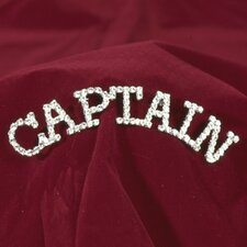 """Captain"" Rhinestone Pin"