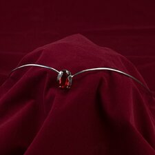 Renaissance Ruby Stone Headpiece