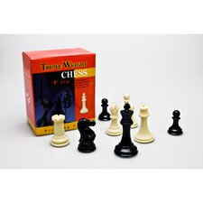 <strong>Sterling Games</strong> Triple Weight Plastic Chessmen