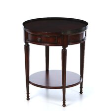 Plantation Cherry Round End Table