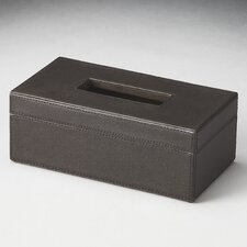 <strong>Butler</strong> Hors D'oeuvres Lido Leather Tissue Box