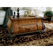 Heritage Bombe Trunk Coffee Table