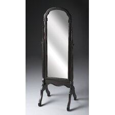 Cheval Mirror in Brushed Sable