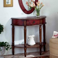 Artist's Originals Demilune 1 Drawer Console Table