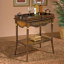 <strong>Butler</strong> Heritage Removable Top End Table