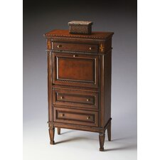 Plantation Cherry Secretary with 3 Drawers