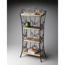 Metalworks Distressed Etagere Shelf