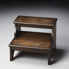 <strong>Butler</strong> Masterpiece Step Stool in Distressed Praline