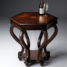 <strong>Butler</strong> Plantation Cherry Hexagonal End Table