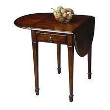 Plantation Cherry Drop Leaves End Table