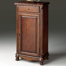 <strong>Butler</strong> Plantation Cherry Tall 1 Drawer Side Chest with Door