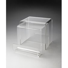 <strong>Butler</strong> Loft Clearwater 2 Piece Nesting Tables