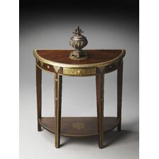 Artifacts Demilune Console Table