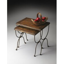 Mountain Lodge 2 Piece Nesting Tables