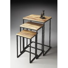 Metalworks 3 Piece Nesting Tables