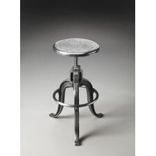 <strong>Butler</strong> Metalworks Parnell Adjustable Swivel Iron Bar Stool