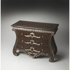 Connoisseur's Dante Carved Wood Console Chest
