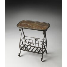 <strong>Butler</strong> Metalworks Pullman Magazine End Table