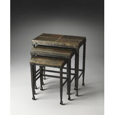 <strong>Butler</strong> Metalworks Burnham 3 Piece Nesting Tables