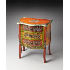 <strong>Butler</strong> Artifacts Mona Hand Painted Accent Chest