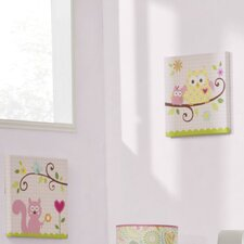 <strong>Kids Line</strong> Dena Happi Tree 2 Piece Canvas Wall Art