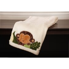 <strong>Kids Line</strong> Jungle 123 Boa Blanket