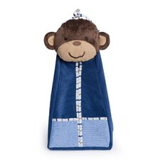 Monkey Rockstar Diaper Stacker